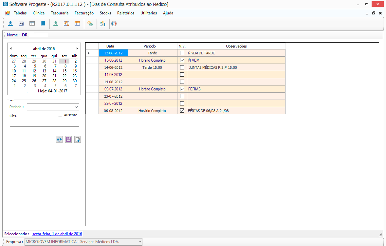 Software Clínicas