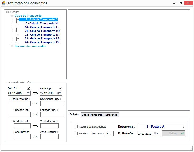 Software Facturação